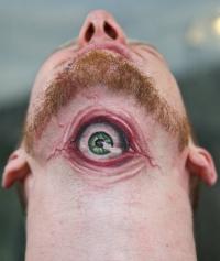 Eyeball tattoo by graynd